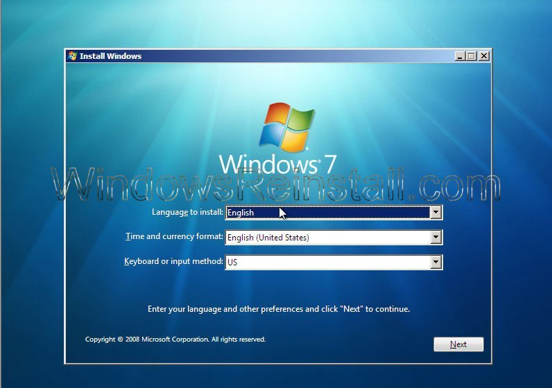 how to install a second hard drive windows 7
